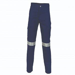 TROUSERS CARGO WITH REFLECTIVE TAPE