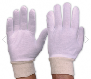 INTERLOCK POLY/COTTON GLOVE KNITTED WRIST MENS (PACK/12)