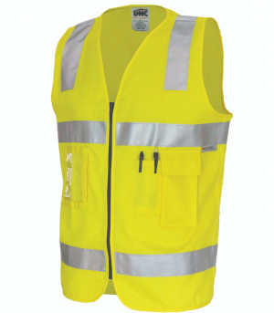 VEST COTTON SAFETY DAY/NIGHT