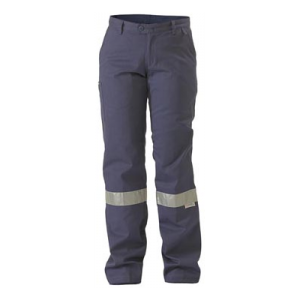 TROUSERS DRILL WOMENS BISLEY W/ 3M TAPE
