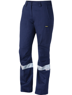 BISLEY LADIES ENGINEERED TAPED DRILL TROUSER