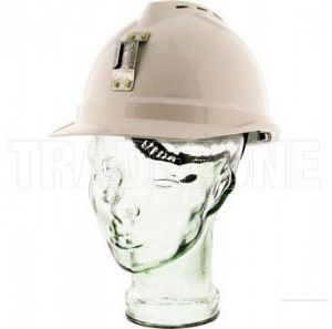 MSA V-GARD VENTED HARD HAT WHITE