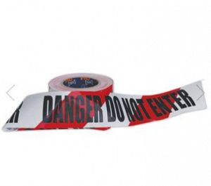 BARRICADE TAPE: DANGER DO NOT ENTER 100M ROLL x 75