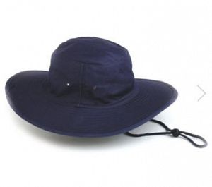HAT CANVAS WITH TOGGLE NAVY